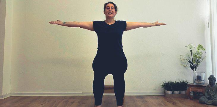 Schultergruß in 2 Varianten – Yoga Flow
